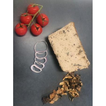 mousse de foie de porc forestière de la ferme du crêt