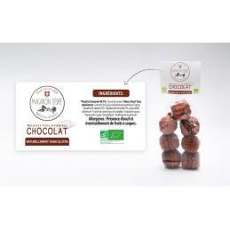 Macaron Bio au Chocolat...