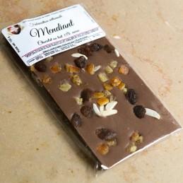 Chocolat lait - mendiant -...