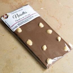 Chocolat lait - noisettes -...