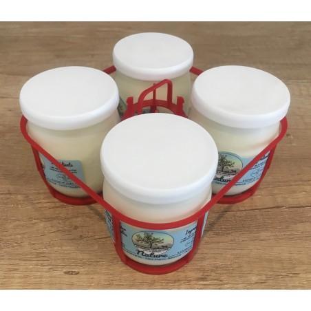 Yaourt nature lait de brebis (125g) x4